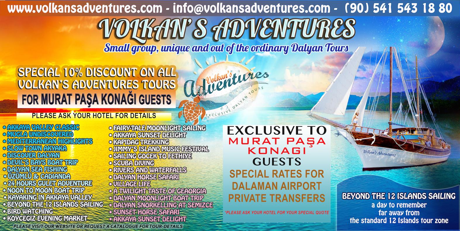 murat paşa Konağı - Volkan's Adventures - Dalyan Tekne Turları ve Dalyan Turları