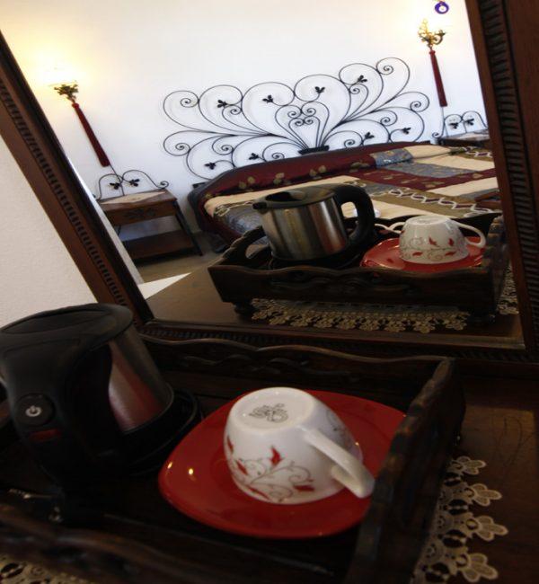 Dalyan Hotel - Murat Paşa Konağı - Honeymoon Suite- Kettle