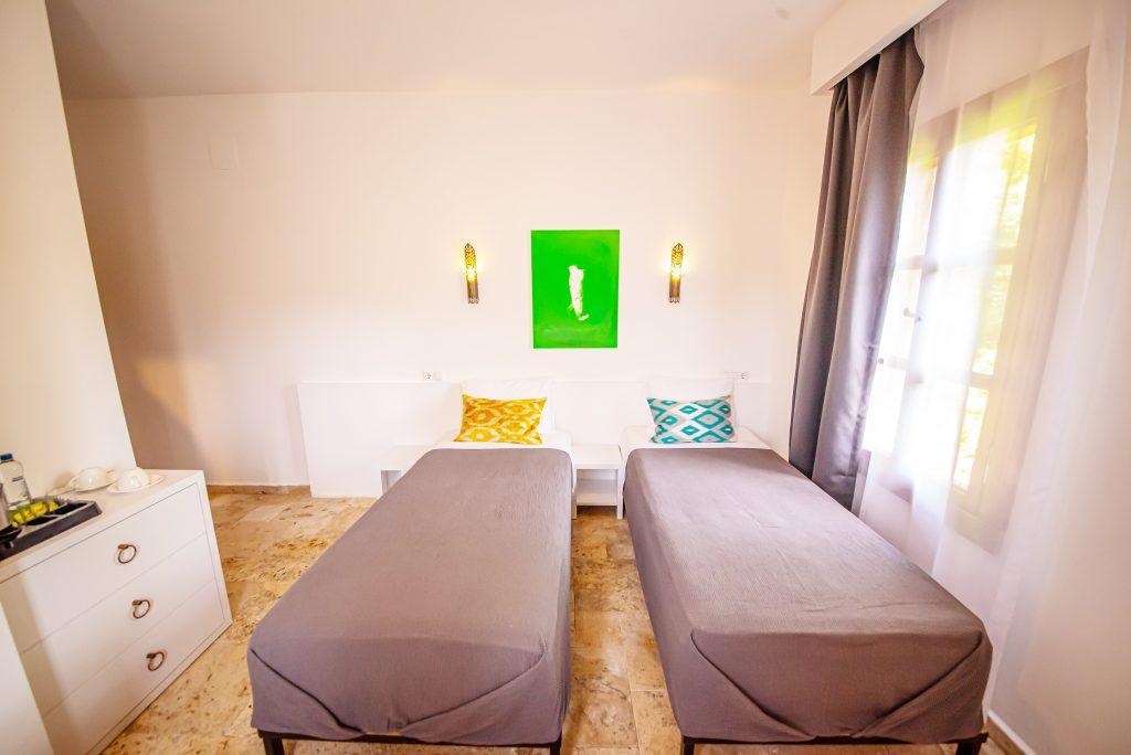 Twin Oda (iki adet tek yatak)
